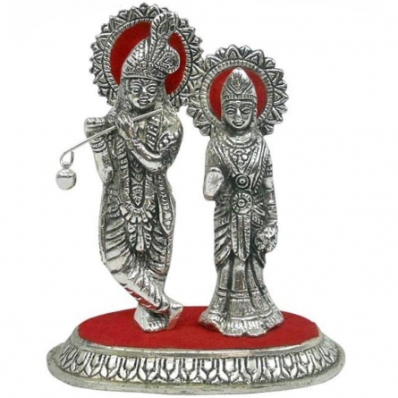 Radha Krishna | Craft by artist Art Street | Metal