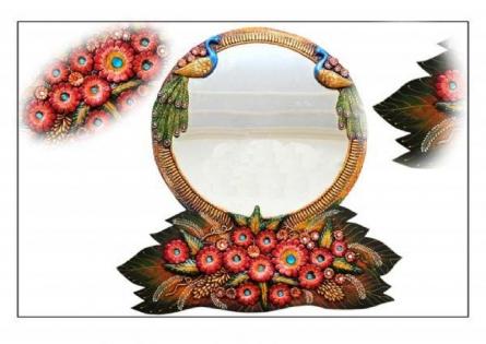 Art Street | Medium Mirror Craft Craft by artist Art Street | Indian Handicraft | ArtZolo.com