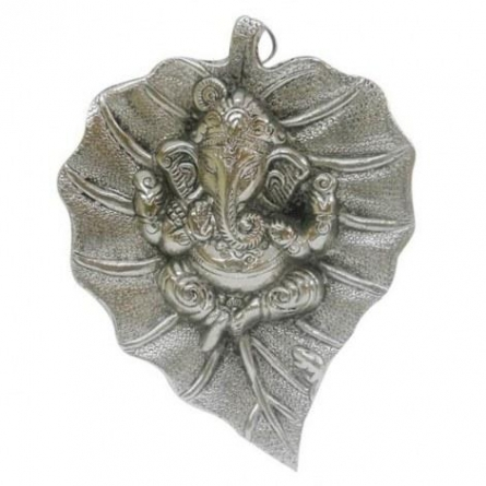 Leaf Ganesha | Craft by artist Art Street | Metal