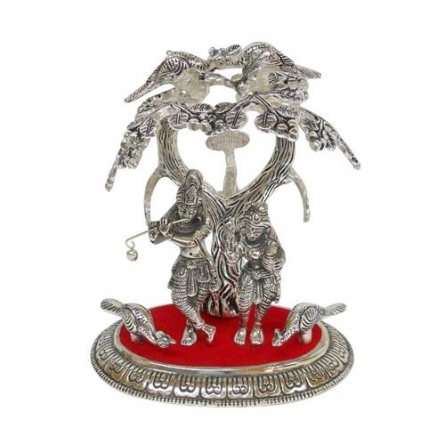 Radha Kishan Tree   Craft by artist Art Street   Metal