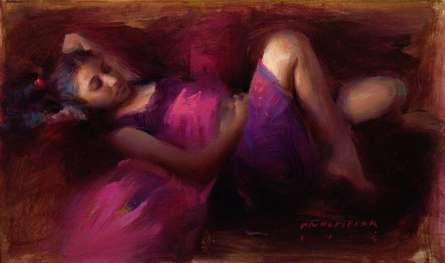 Figure III | Painting by artist Pramod Kurlekar | oil | Canvas