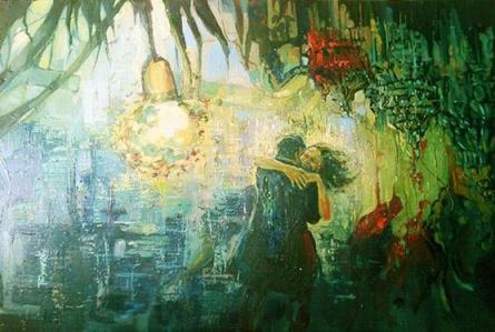 I Love You | Painting by artist Priyanka Kaushal | oil | Canvas