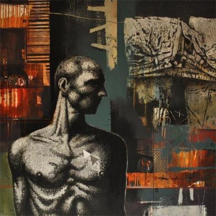 Photorealistic Acrylic Art Painting title Untitled by artist Palash Halder