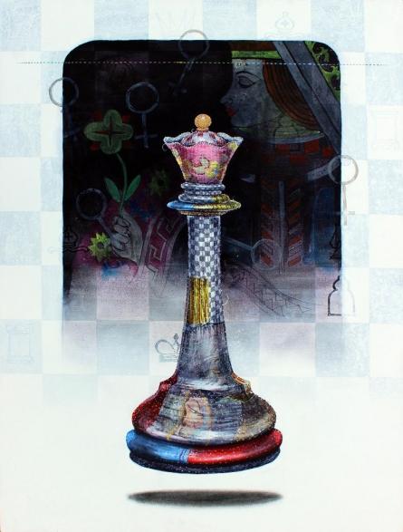 Still-life Acrylic Art Painting title 'Memories 2' by artist Ramchandra Kharatmal