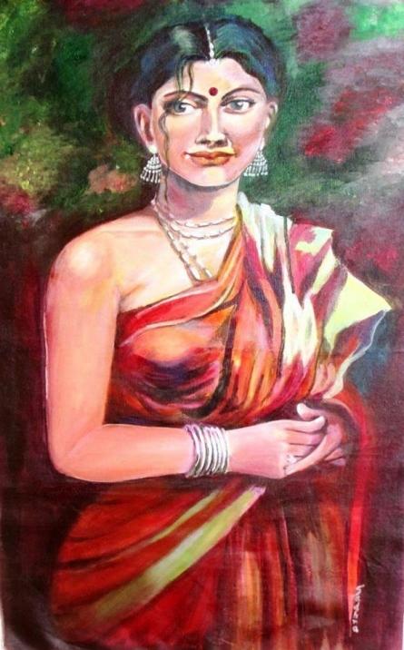 Vichitra | Painting by artist Sadhna Tiwari | acrylic | Canvas