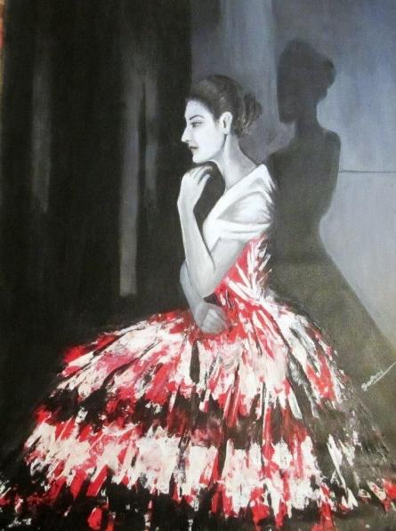His Pride | Painting by artist Sadhna Tiwari | acrylic | Canvas