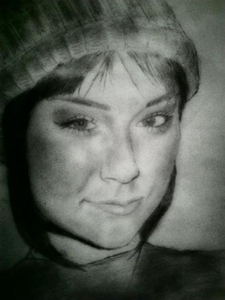 Sasha Grey | Drawing by artist Gaurav Rana |  | pencil | 93.5