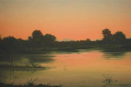 Nature Beauty II | Painting by artist Fareed Ahmed | oil | Canvas