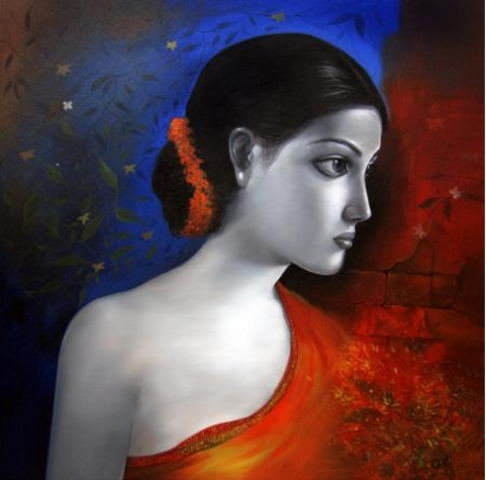 She 4 | Painting by artist RD Roy | acrylic | Canvas