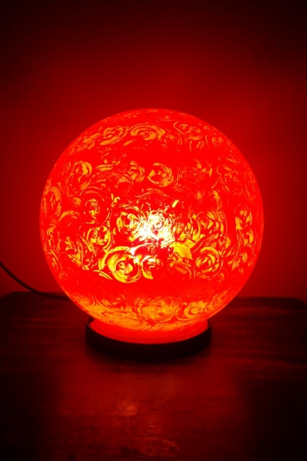 Rithika Kumar | Cherry Pop Lollipop Table Lamps Craft Craft by artist Rithika Kumar | Indian Handicraft | ArtZolo.com