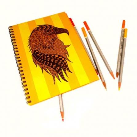 Albert Notebook | Craft by artist Rithika Kumar | Paper