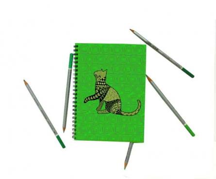 Bela Notebook | Craft by artist Rithika Kumar | Paper