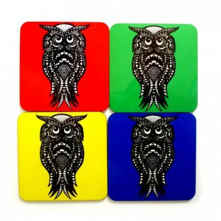 Ernie Coasters | Craft by artist Rithika Kumar | MDF Wood
