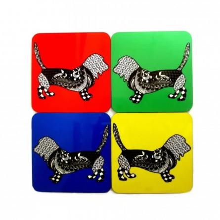 Rithika Kumar | Rufus Coasters Craft Craft by artist Rithika Kumar | Indian Handicraft | ArtZolo.com