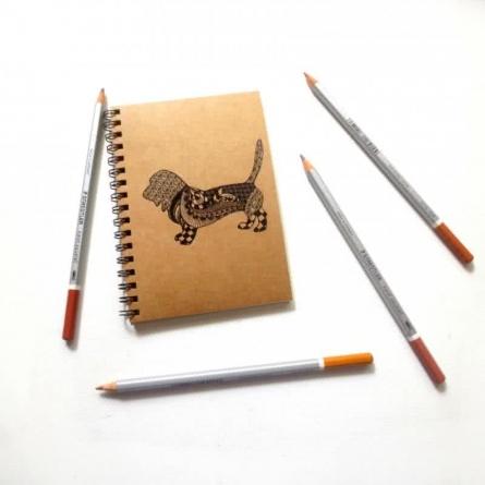 Rufus Khaki | Craft by artist Rithika Kumar | Paper