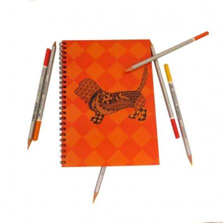 Rufus Notebook   Craft by artist Rithika Kumar   Paper