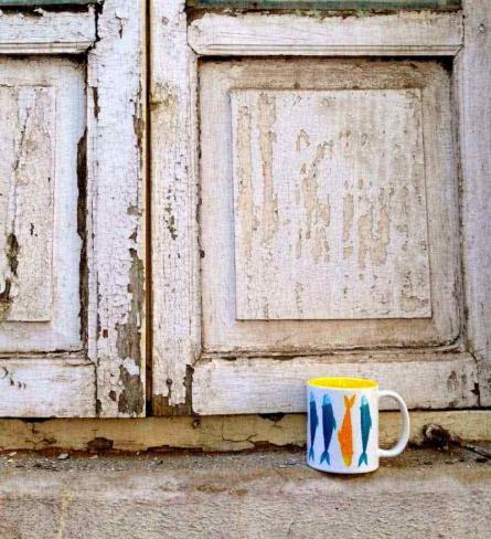 Something Fishy Mug | Craft by artist Rithika Kumar | Ceramic