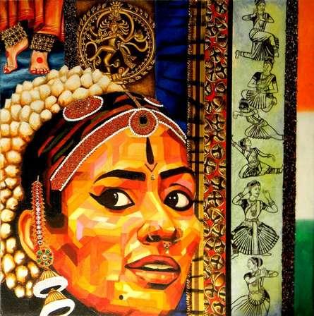 Dscn8701 | Mixed_media by artist Vidhi Shah | Jute