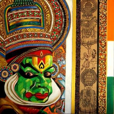 Dscn8710 | Mixed_media by artist Vidhi Shah | Jute