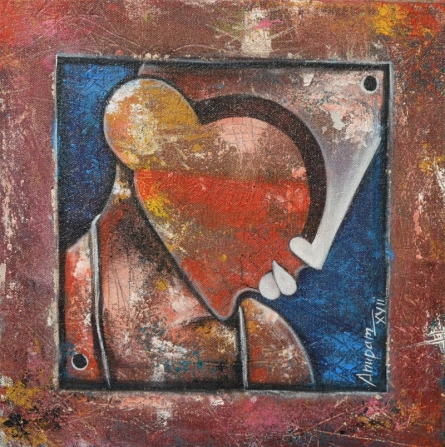 Untitled | Painting by artist Anupam Pal | acrylic | Canvas
