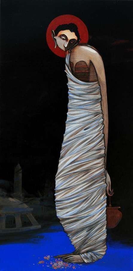 Buddha 10 | Painting by artist Sanjay Sable | acrylic | Canvas