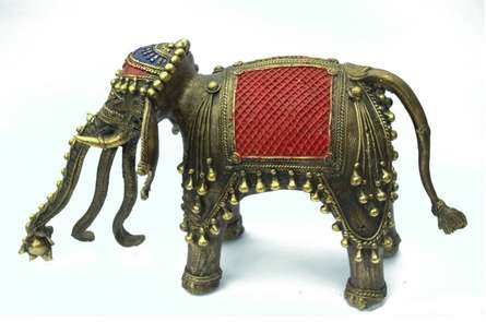 Gajendra | Craft by artist Bhansali Art | Brass