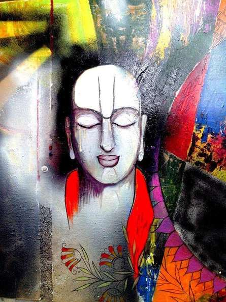 Chanakya | Painting by artist Meenakshi Jha Banerjee | acrylic | Canvas
