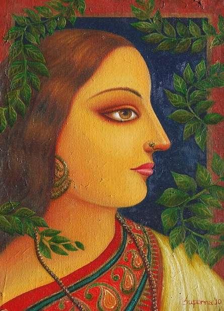 Rai Kamol | Painting by artist Suparna Dey | oil | Canvas