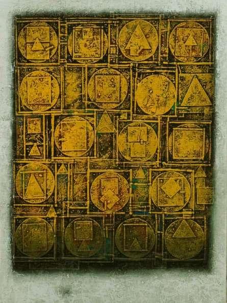 Basuki Dasgupta | Acrylic Painting title Unitled 1 on Canvas