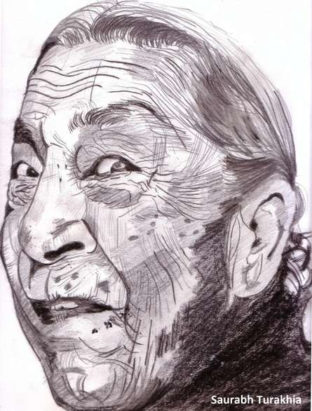 Age is just a number | Painting by artist Saurabh Turakhia | other | Paper
