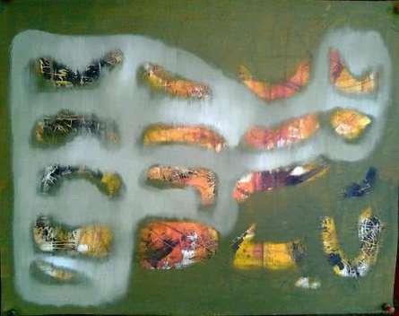 Memories 1 | Painting by artist Ranjith Raghupathy | mixed-media | Canvas
