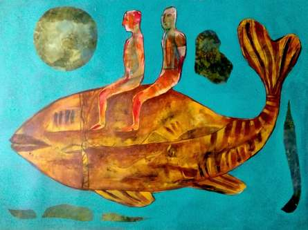 Hypothesis Of Journey | Painting by artist Ranjith Raghupathy | acrylic | Canvas