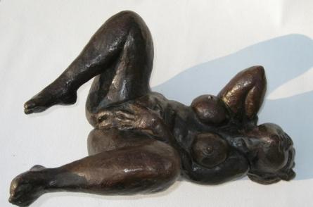 Manjushri Chakraborty | Desire Series IV Sculpture by artist Manjushri Chakraborty on Bronze | ArtZolo.com