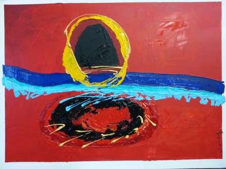 5632683 Orig | Painting by artist Romaine Kaufman | acrylic | Canvas