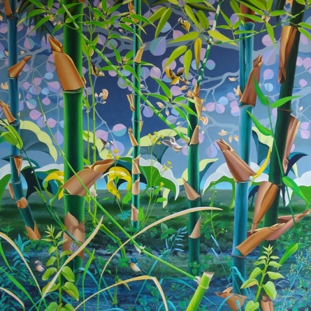 Nature Acrylic Art Painting title 'Nature 2' by artist Sanjay Kumar Biswal