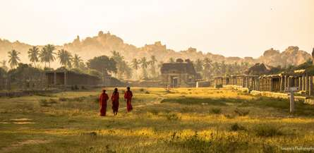 Achutyaraya temple | Photography by artist Sawant Tandle | Art print on Canvas