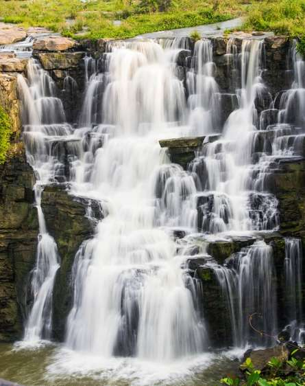 Waterfalls | Photography by artist Sawant Tandle | Art print on Canvas