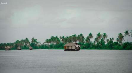 Kerala | Photography by artist Sawant Tandle | Art print on Canvas