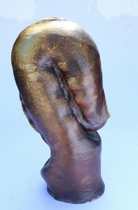 Untitled   Sculpture by artist Neeraj Ahirwar   stone ware