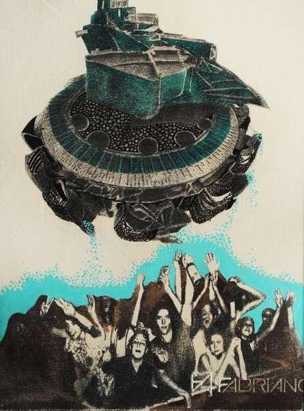 Digging Joy | Painting by artist Akshay Tijare | watercolor | Paper