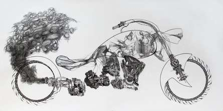 Where There's Smoke There's Fire | Drawing by artist Akshay Tijare |  | pen | Canson Paper
