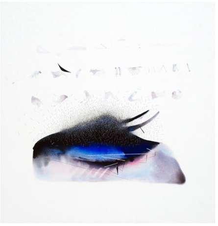 Closed Eye Abstract   Mixed_media by artist Neeraj Ydava   Canvas