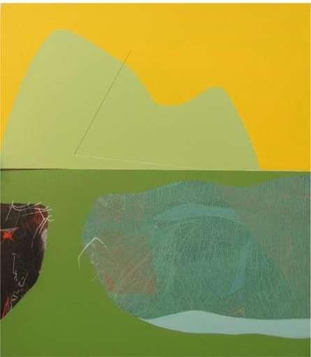 Abstarct Reflection | Mixed_media by artist Neeraj Ydava | Canvas