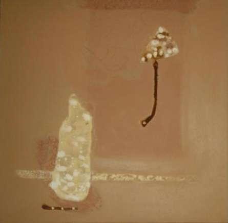 Abstract Ix   Painting by artist Veena Jain   oil   Canvas