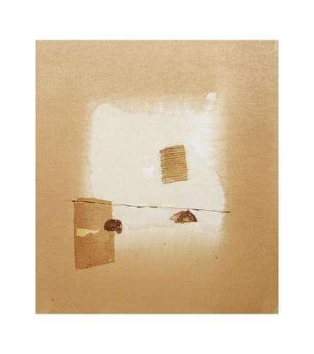Veena Jain | Mixed-media Painting title Abstract Ii on Paper | Artist Veena Jain Gallery | ArtZolo.com