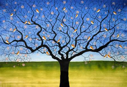 A Beautiful Day | Painting by artist Sumit Mehndiratta | acrylic | Canvas