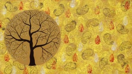 Aatam Vriksh | Painting by artist Sumit Mehndiratta | acrylic | canvas