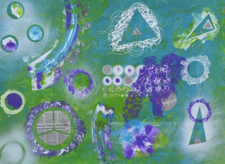 Avper | Painting by artist Sumit Mehndiratta | mixed-media | paper