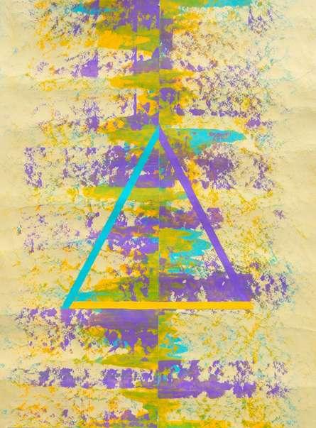 Abstract Acrylic Art Painting title Dalax by artist Sumit Mehndiratta
