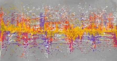 Flavera | Painting by artist Sumit Mehndiratta | acrylic | Canvas